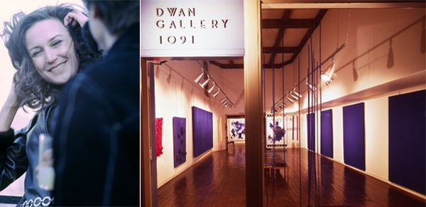 Virginia Dwan (born October 18, 1931) is an American art collector, art patron, philanthropist, visionary and founder of the Dwan Light Sanctuary in Montezuma, New Mexico