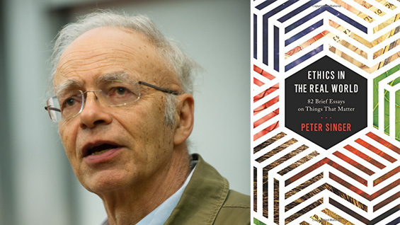Peter SInger analyzes ethical conundrums with a scalpel but he should look to his premises when it comes to science(photo Tony Phillips)