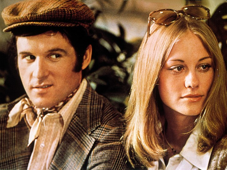 Risky business - Charles Grodin pursues the ultimate WASP princess into the heart of America sacrificing everything and risking social rejection at every turn to triumph over every obstacle to win ....  what?